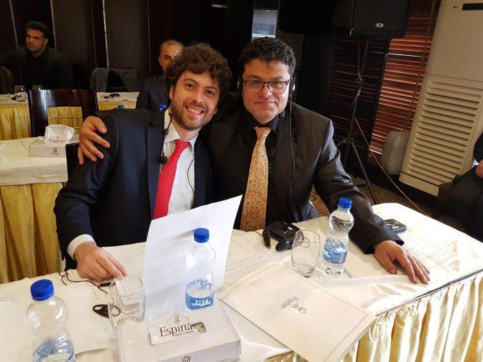 ترجمه همزمان همایش شرکت باربرینی ایتالیا در تهران